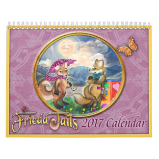 Frieda Tails 2017 Calendar - Medium - 8.5x11