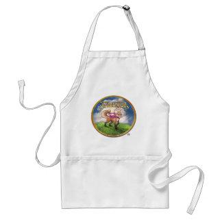 Frieda Tails apron