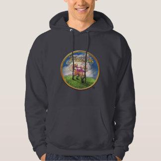 Frieda Tails hooded sweatshirt