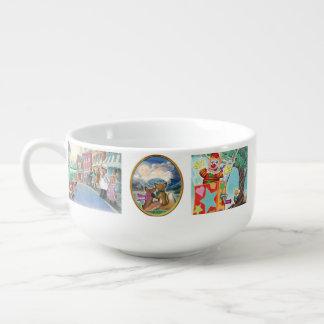 Frieda Tails soup mug/bowl Soup Mug