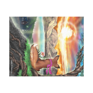 Frieda Tails - Sunset print