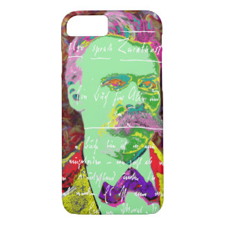 Friedrich Nietzche German Philosopher Existential iPhone 8/7 Case