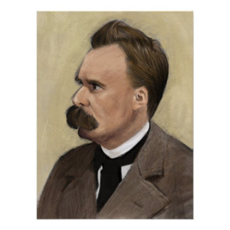 Friedrich Nietzsche, German Philosopher Poster