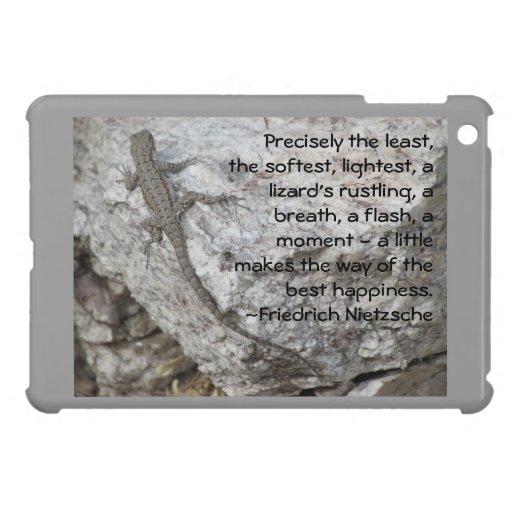 Friedrich Nietzsche Happiness Quote iPad Mini Covers