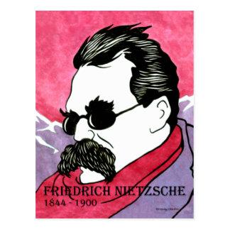 """""""Friedrich Nietzsche"""" Postcard"""