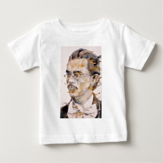 friedrich nietzsche - watercolor portrait.2 baby T-Shirt