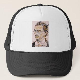 friedrich nietzsche - watercolor portrait.2 trucker hat