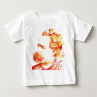 friedrich nietzsche - watercolor portrait.3 baby T-Shirt