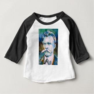 friedrich nietzsche - watercolor portrait baby T-Shirt