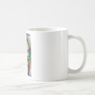 friedrich nietzsche - watercolor portrait coffee mug