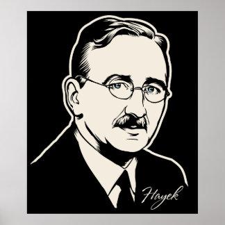 Friedrich von Hayek Print