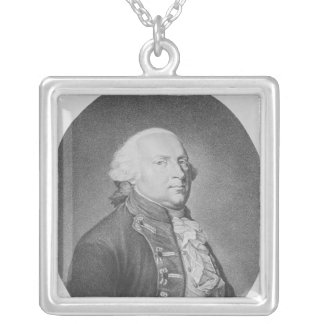 Friedrich Wilhelm II of Prussia Silver Plated Necklace