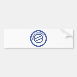 Friedrichshafen post stempel stamp bumper stickers