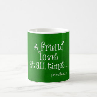 Friend Bible Verse Scripture Coffee Mug