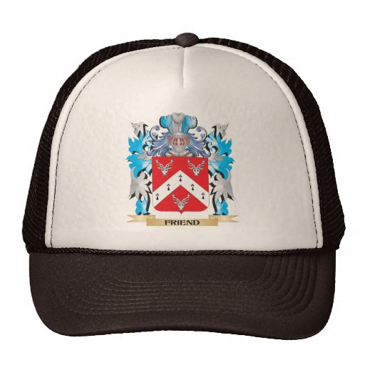 Friend Coat of Arms - Family Crest Trucker Hats