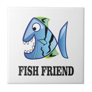 friend fish yeah ceramic tile
