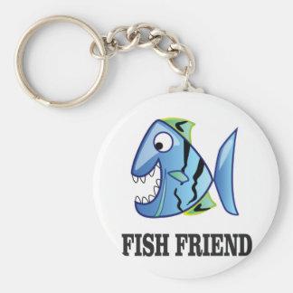 friend fish yeah key ring