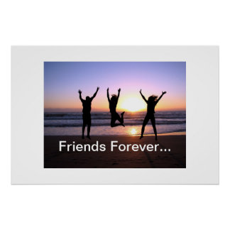 Friend  Friendship Day True Together Friends Forev Poster