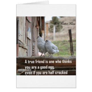 friend meme card
