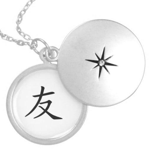 """Friend"" Custom Necklace"