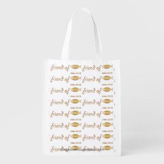 Friend of Jesus Grocery Bags