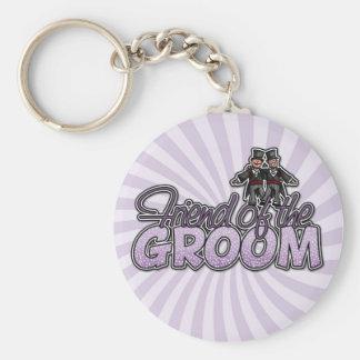 friend of the groom keychain