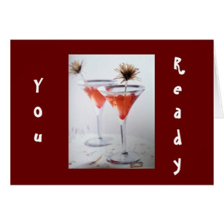 FRIEND OR FAMILY-I AM READY TO CELEBRATE YOUR DAY CARD
