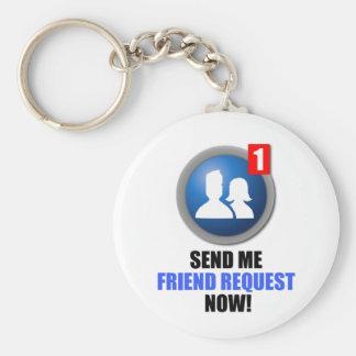 Friend Request Keychain