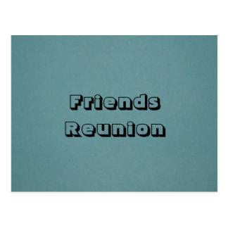 Friend Reunion Post Card