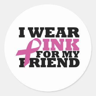 friend round sticker
