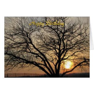Friend Sunset Greeting Card
