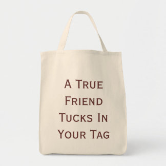 Friend Grocery Tote Bag