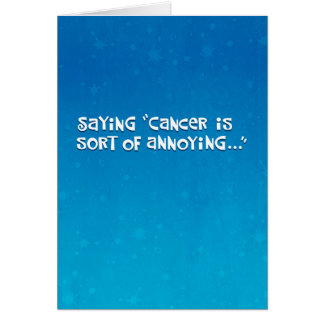 Friend with Cancer Affirmation Card