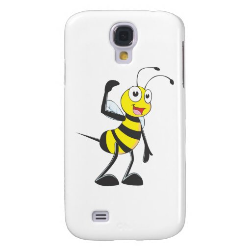 Friendly Bee Inviting You Galaxy S4 Covers