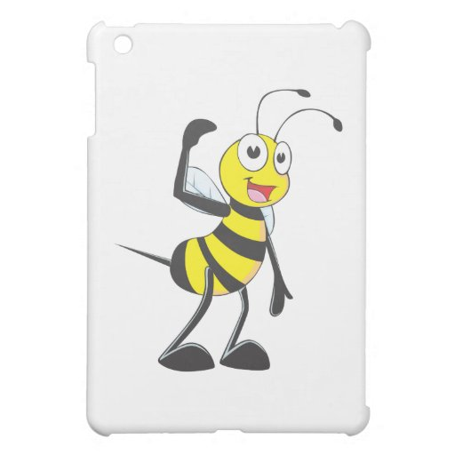 Friendly Bee Inviting You iPad Mini Covers