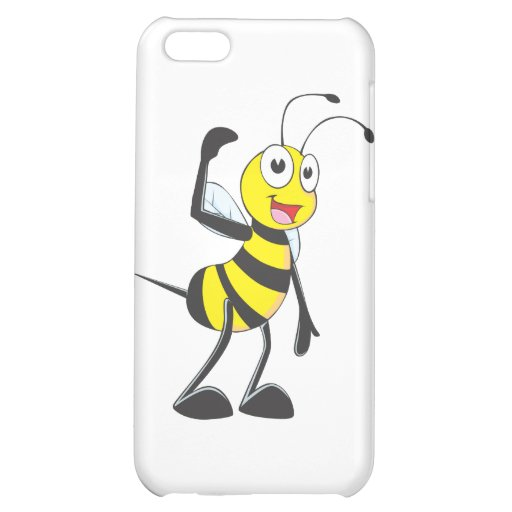 Friendly Bee Inviting You iPhone 5C Cases