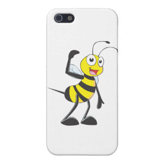 Friendly Bee Inviting You iPhone 5 Covers