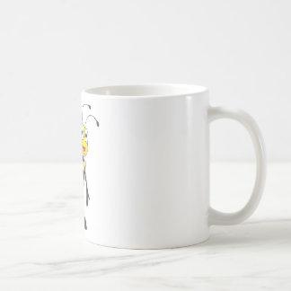 Friendly Bee Inviting You Coffee Mug