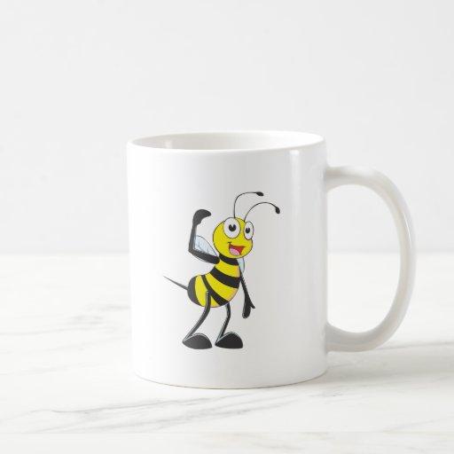 Friendly Bee Inviting You Mug