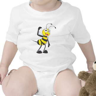Friendly Bee Inviting You Tees
