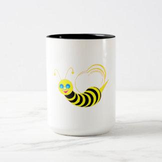 Friendly Bee Coffee Mugs