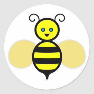 Friendly Bee Stickers