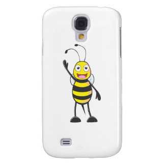 Friendly Bee Waving to You Samsung Galaxy S4 Covers