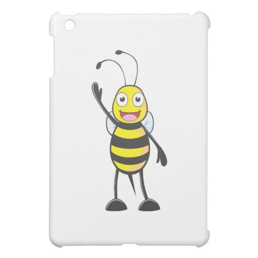 Friendly Bee Waving to You iPad Mini Cover