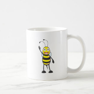 Friendly Bee Waving to You Mug