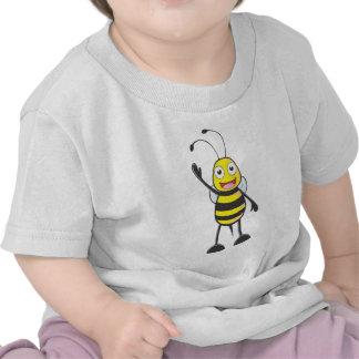 Friendly Bee Waving to You T-shirt