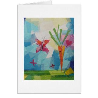 Friendly Carrot Card