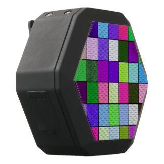 friendly checks colorful black boombot rex bluetooth speaker