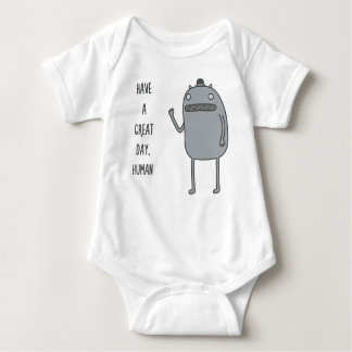 Friendly Creature Baby Bodysuit