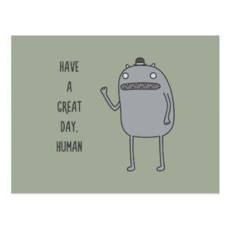 Friendly Creature Postcard
